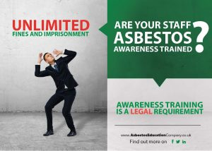 Are You Aware of Asbestos? poster